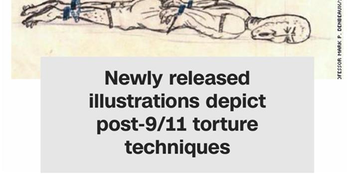 施加水刑按头撞墙 关塔那摩监狱囚犯遭CIA虐待