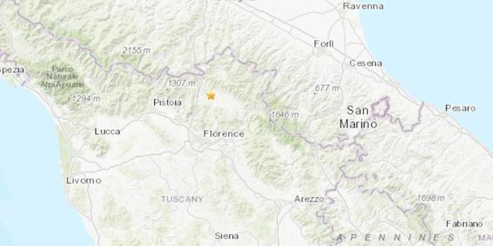 意大利佛羅倫薩地區4.8級地震 致全國鐵路受影響