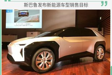 电动化布局加速 斯巴鲁电动车销售目标