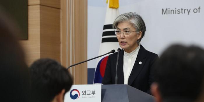 韩外交部再次喊话日本:撤销对韩限贸措施