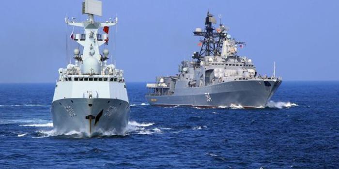 """俄专家:中俄""""很快将终结""""美海上霸权"""