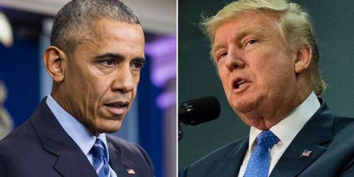 特朗普指责奥巴马