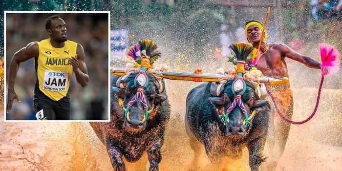 """印度""""博尔特""""拒绝参加田径训练:习惯在稻田跑"""