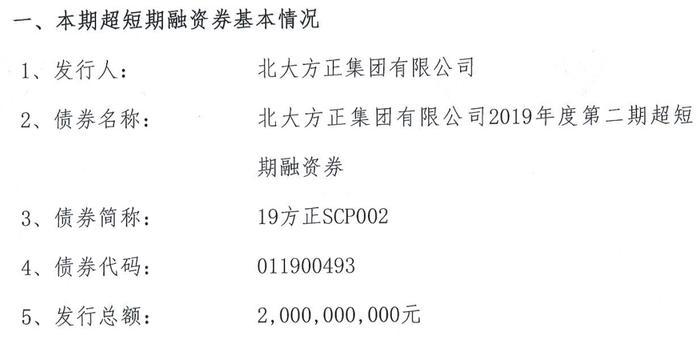 总负债3000亿的方正集团被申请重整 延期债券将到期