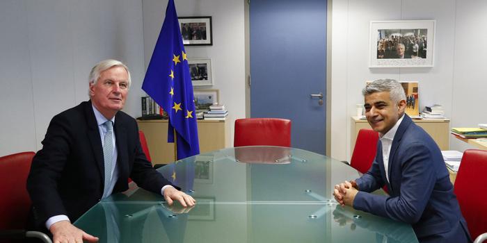 """伦敦市长:欧盟应该保留""""留欧派""""的准公民身份"""