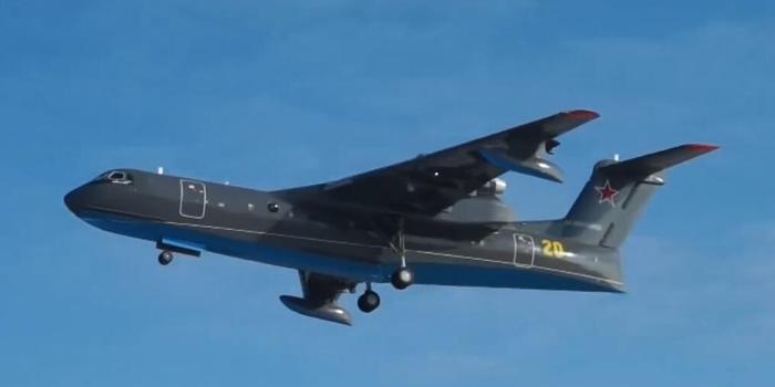 俄军新型两栖飞机首飞 俄专家:它在中国有竞争对手