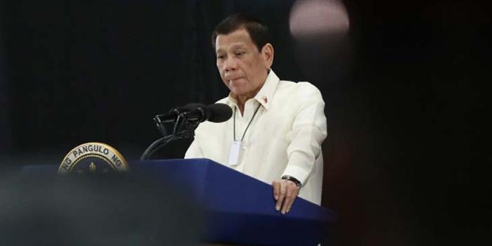杜特尔特:总统任期结束后,我想当刑法老师