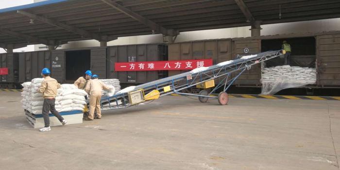 北京紧急调拨420吨面粉支援武汉 首批物资已发车