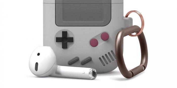 这款AirPods保护套让你看起来像带了一台Game Boy
