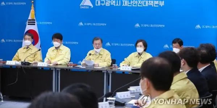 韓國確診逼近1000例,文在寅坐鎮大邱指揮!