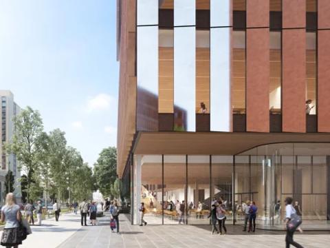 """波士顿大学建了一座""""碳中和""""的新建筑"""