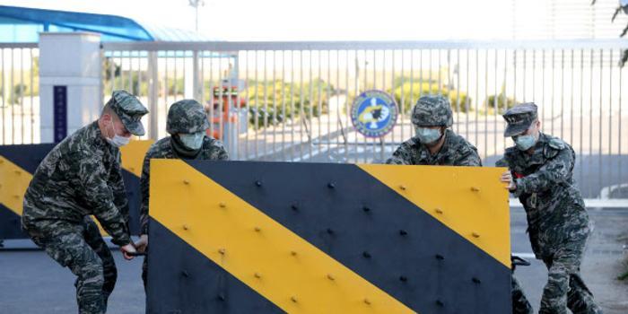 韓國18名軍人感染新冠肺炎 9230名軍人被隔離