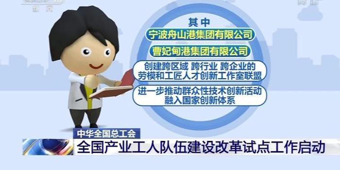 中华全国总工会:产业工人队伍建设改革试点工作启动