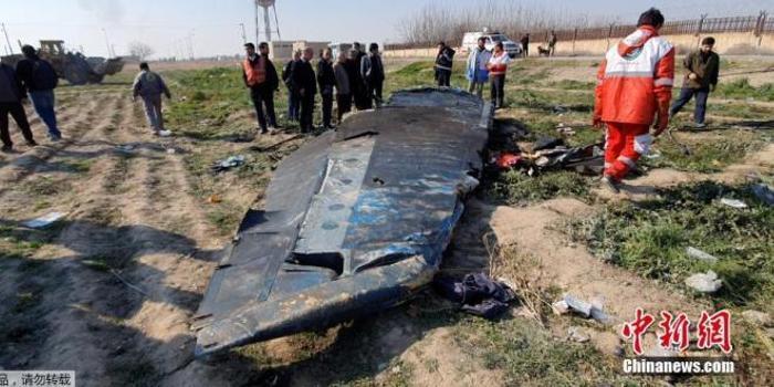 伊朗坠机事故:乌总统冀带回黑匣子 争取更多赔偿金