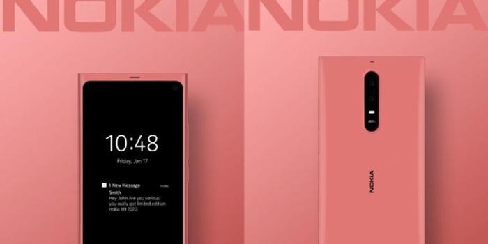 """诺基亚N9 2020版5G新机曝光:""""Oreo""""相机没了"""