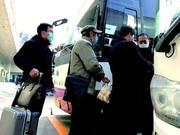 市际班车恢复首日:客座率不到一半 乘客自觉分开坐