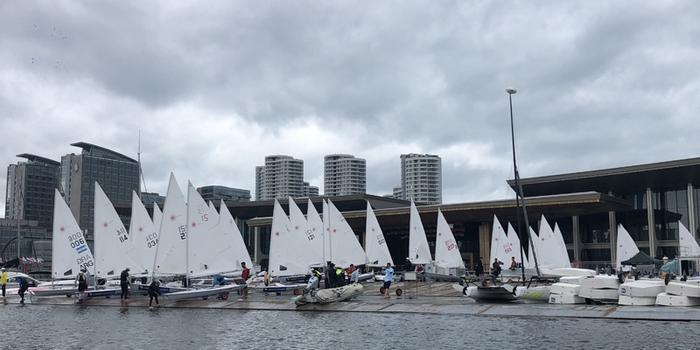 2020年帆船帆板项目全国体育单招统考在学校奥帆中心校区举行