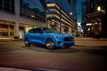 零百加速3.7秒/2021年推出 福特Mustang Mach-E GT亮相