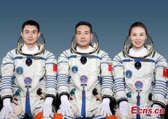 China unveils Shenzhou-13 crew for 6-month space station mission