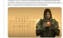 """小岛发推解释导剪版含义 表示不喜欢《死亡搁浅》""""导剪""""标题"""