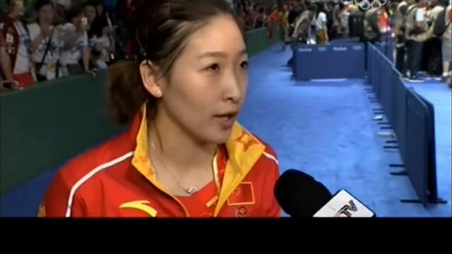 刘诗雯:首次参加奥运略紧张