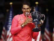 纳达尔三夺美网男单冠军
