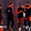 巴塞罗那训练备战