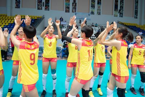 U18女排世锦赛中国3-0波多黎各