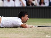 德约温网夺冠 多次摔倒在地