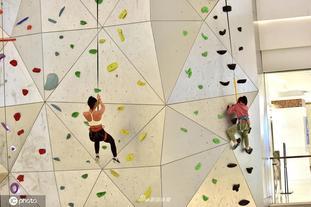 室内最高人造攀岩吸引众市民