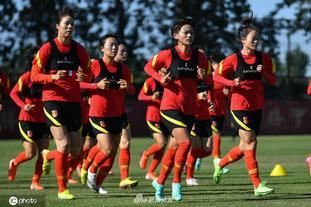 中國女足于香河訓練基地集訓