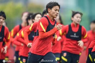 中国女足备战训练