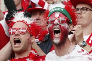 欧洲杯每日球迷精选图片