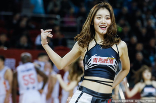 吉林东北虎篮球宝贝热情助威