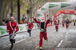 2019年马德里圣诞老人长跑大赛