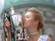斯维托丽娜拍总决赛冠军写真