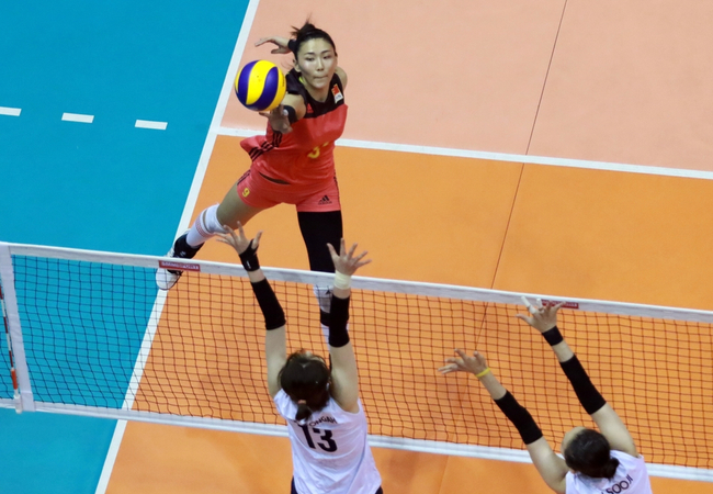 女排亚锦赛中国0-3无缘奖牌第四收官 韩国夺季军