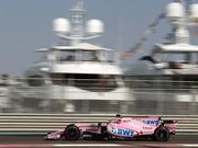 F1阿布扎比站印度力量赛道直击