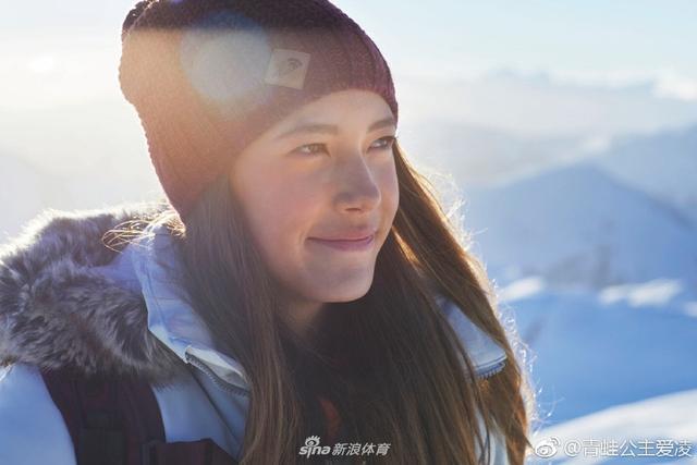 中國自由式滑雪運動員谷愛凌報到