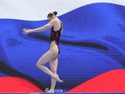 世锦赛花样游泳单人自由自选罗马什娜夺冠