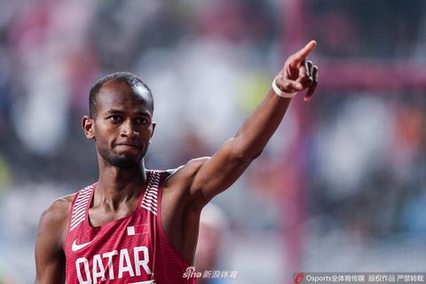世锦赛男子跳高巴希姆夺冠