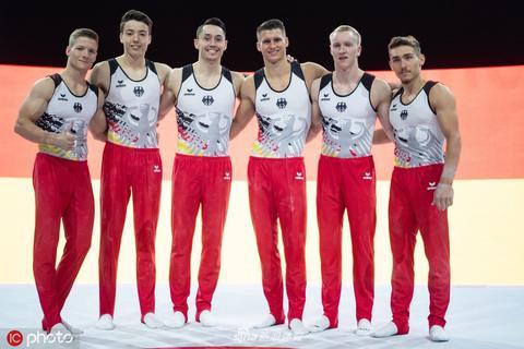 德国体操男队备战世锦赛