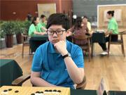高清-围棋之乡神木站次日赛场选手特写