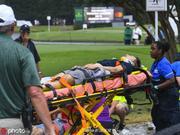 巡回锦标赛遭遇雷击 六人受伤