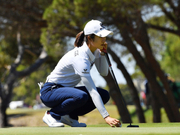 澳洲女子公开赛第三轮小科达领先