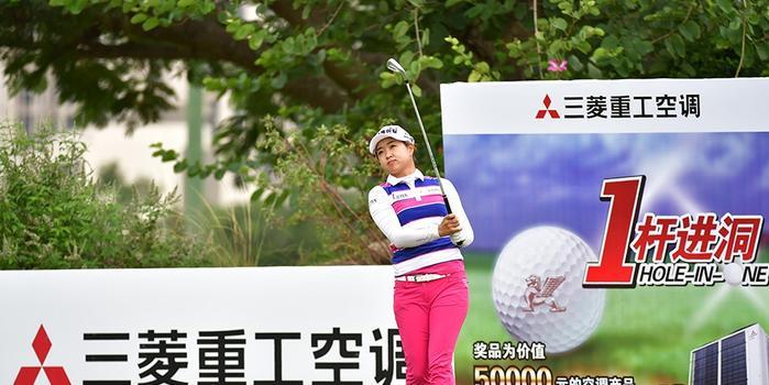 东方名人赛李嗦啦赢CLPGA首冠 中国三小将并列第5
