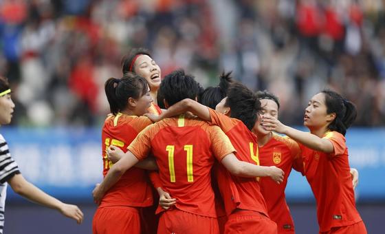 新浪直击中国女足淘汰韩国 晋级东京奥运会