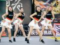 轻舞飞扬!黄金联赛南京站啦啦队