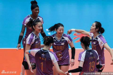 排超八强战天津女排3-0辽宁女排