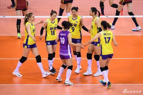 世俱杯天津女排0-3恒大获第八